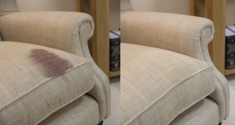 Grandma's Chair Red Wine Removal